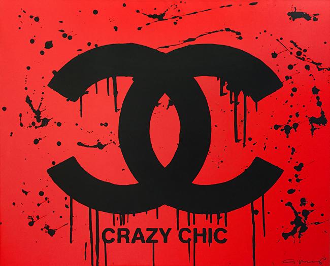 Crazy Chic ( 38 1/4 x 46)