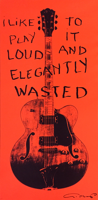 Elegantly Wasted (51 1/2 x 23 1/2)