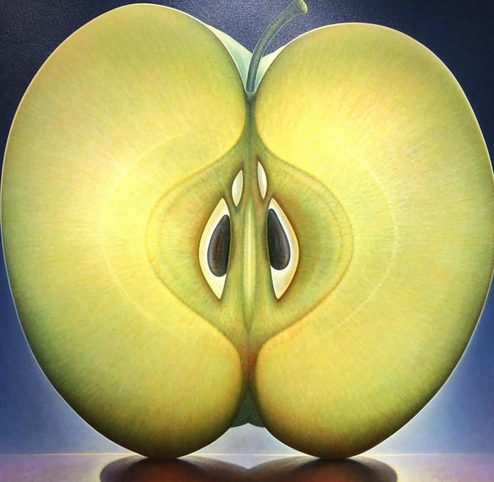 Apple Series #1 (50 x 54)