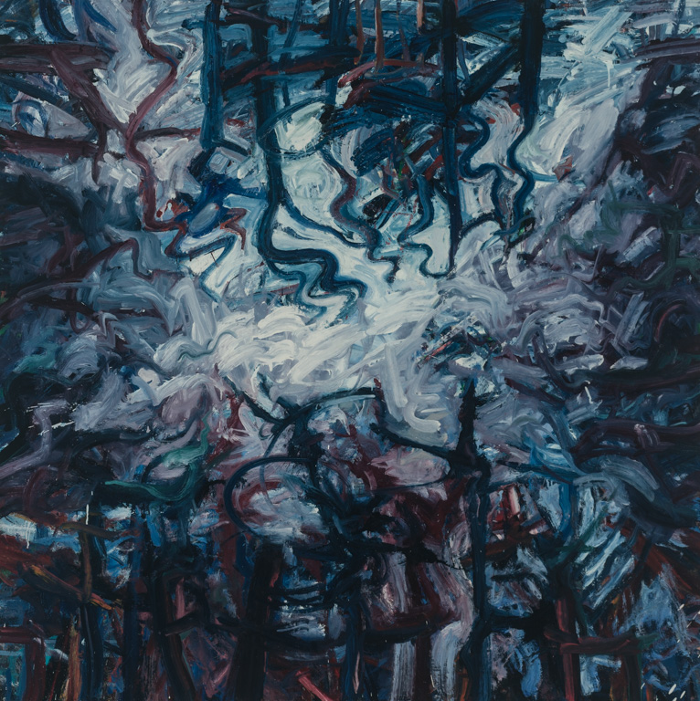 Reflected Opening in the Forest Canopy (60 x 60)