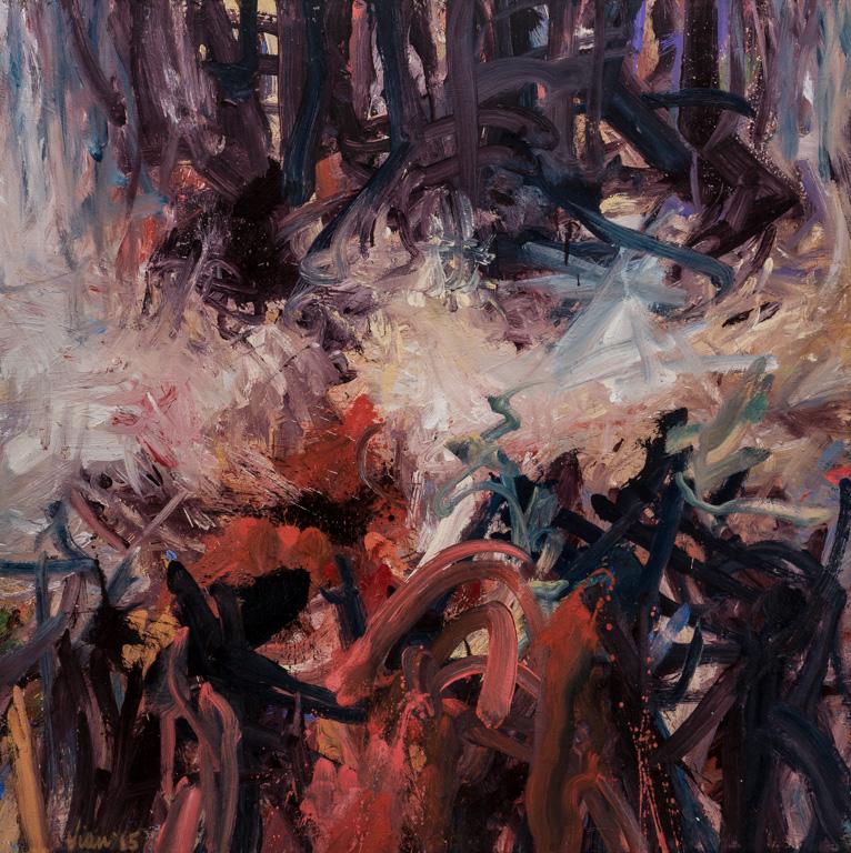Reflection III (48 x 48)
