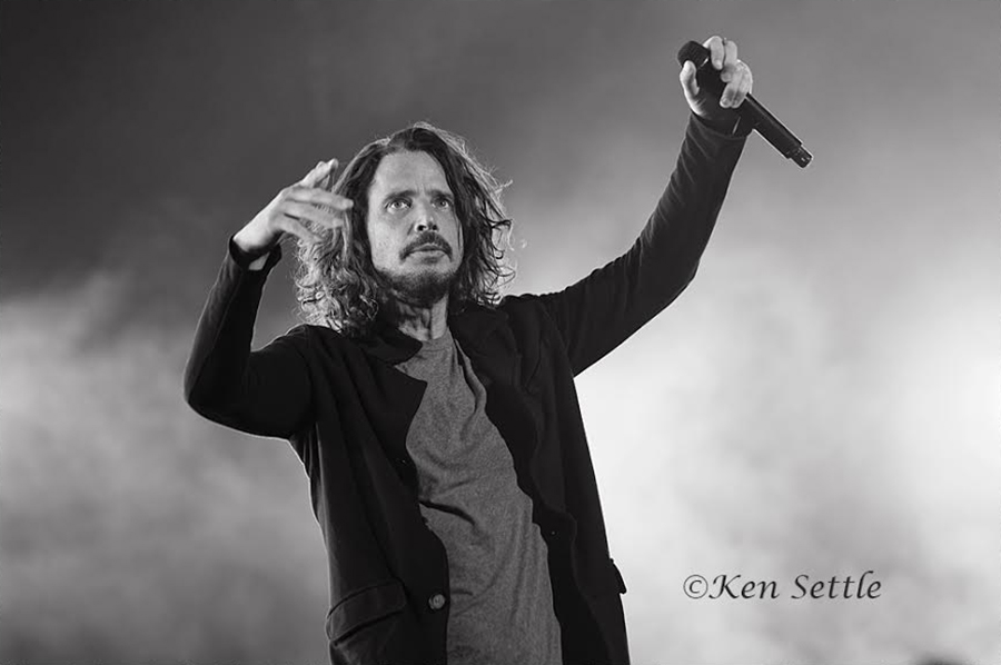 Chris Cornell B&W (16 x 20)