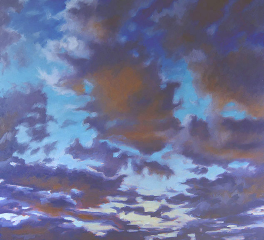 Tramonto (Sunset) [54 x 60]