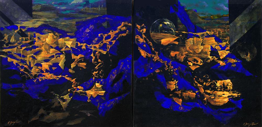 Yin Yang (30 x 60)
