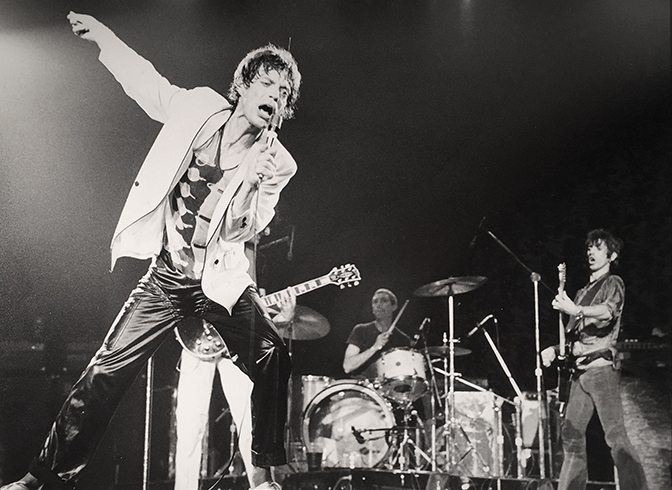 Mick Jagger Masonic (9 X 12)  Silver gelatin limited edition photographic print on paper  18 3/4 x 21 (framed)  Email us for all inquiries: gerard@robertkiddgallery.com