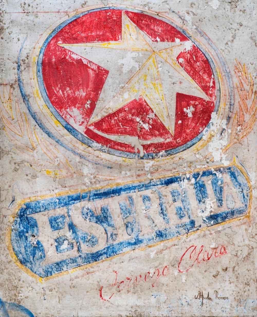 Estrella Clara (43 1/4 x 53 1/2)