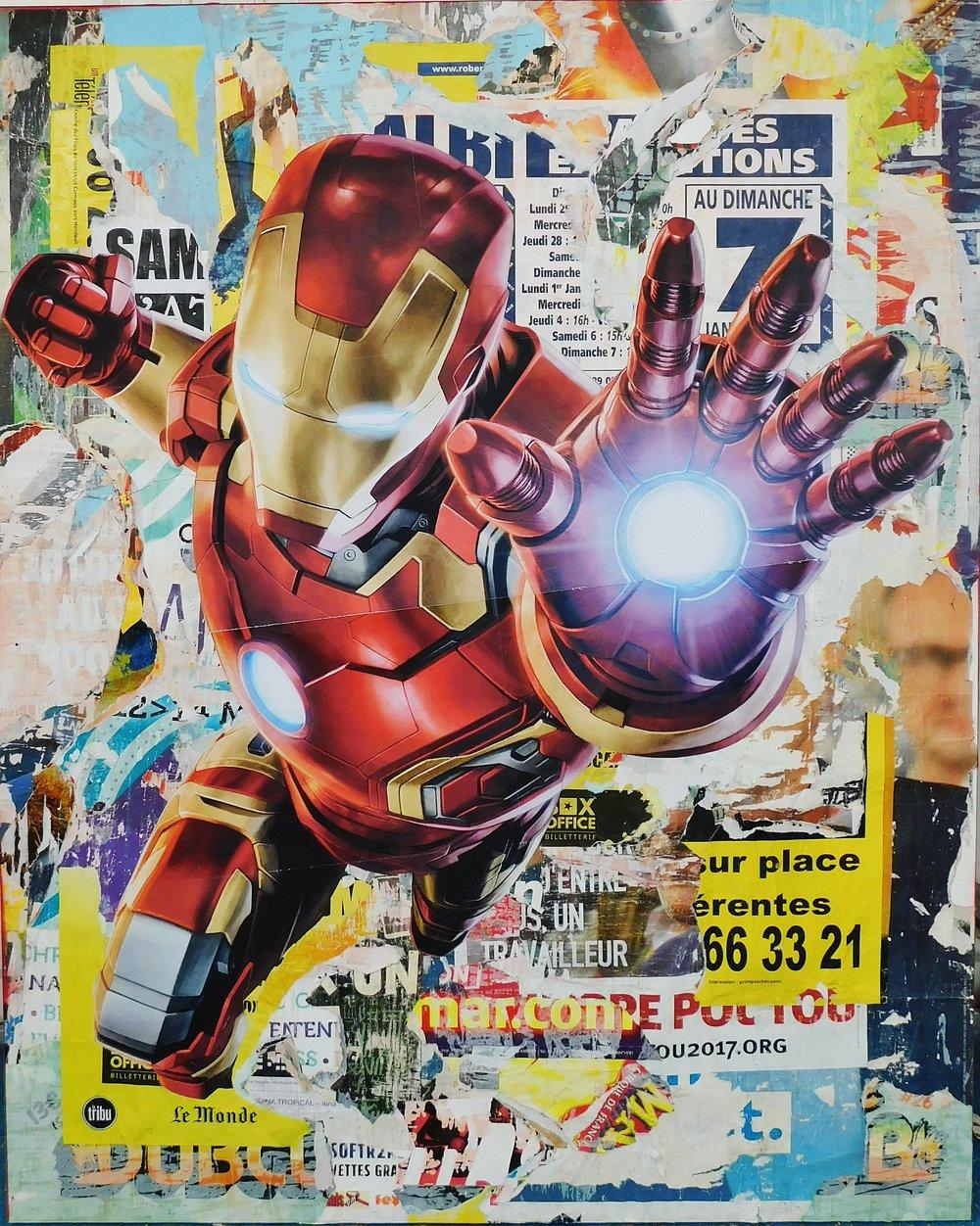 Iron Man (59 x 47)