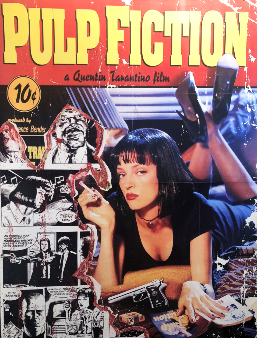 Pulp Fiction (59 x 47)