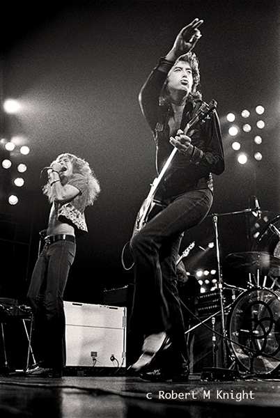 Robert Plant & Jimmy Page Live 1972