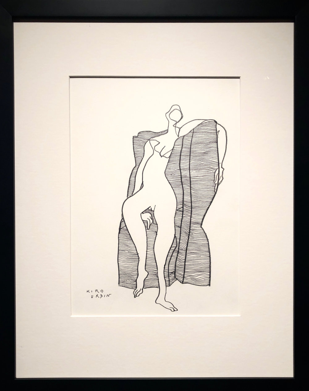 Nude IV - (14 x 11)