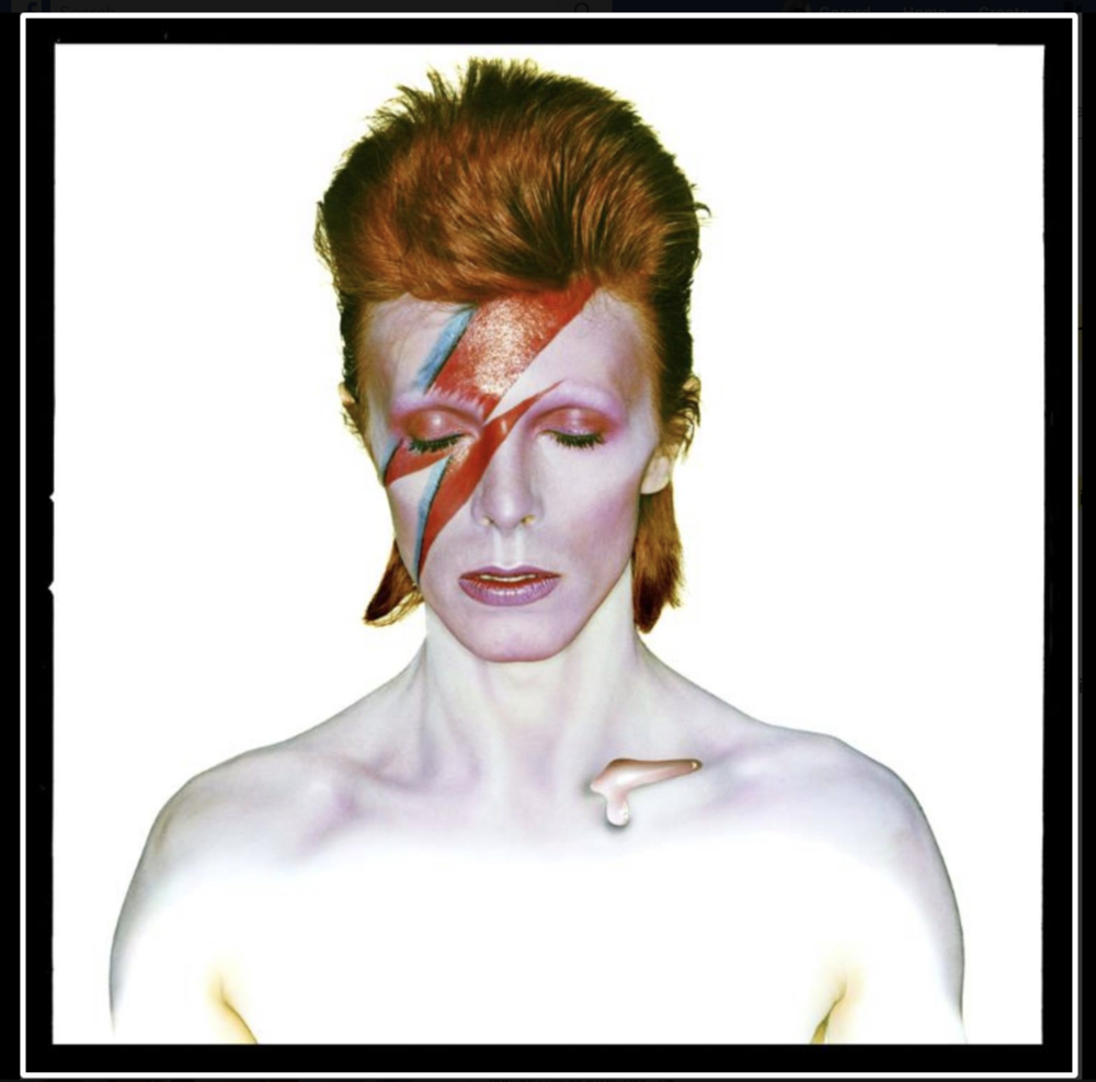 David Bowie as Aladdin Sane 1973