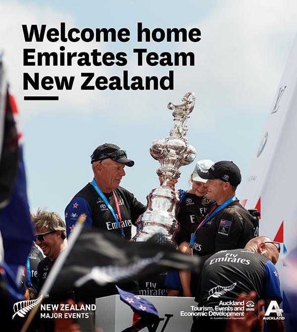 Welcome Home Celebratory Parade artwork & map