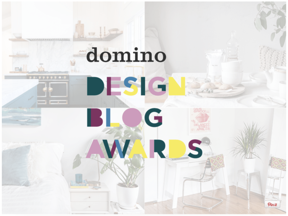 Finalists: Domino Design Blog Awards