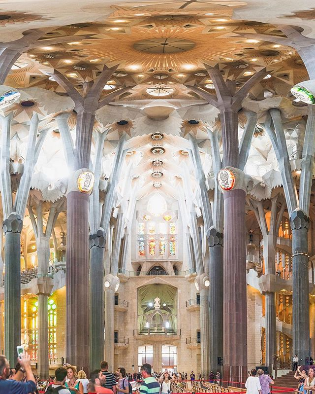 another look at the intricacy that is the sagrada familia