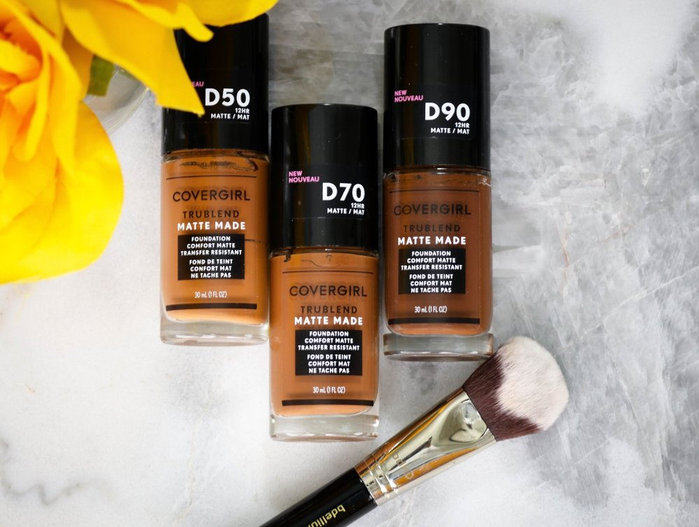CoverGirl TruBlend Matte Made Liquid Foundation Review & Demo   LoNicely  https://www.lonicely.com/makeup/2018/5/covergirl-trublend-matte-made-liquid-foundation-review-demo
