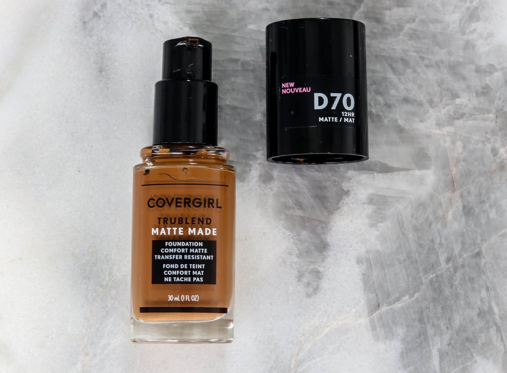 CoverGirl TruBlend Matte Made Liquid Foundation Review & Demo   LoNicely