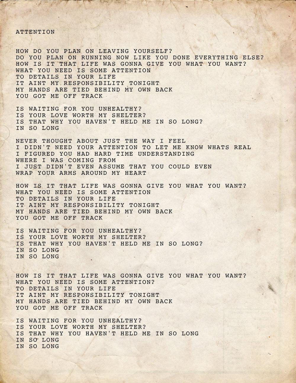 10. Attention Lyrics.jpg