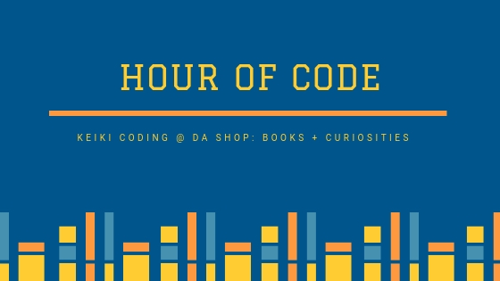 An Hour of Code with Keiki Coding — da Shop