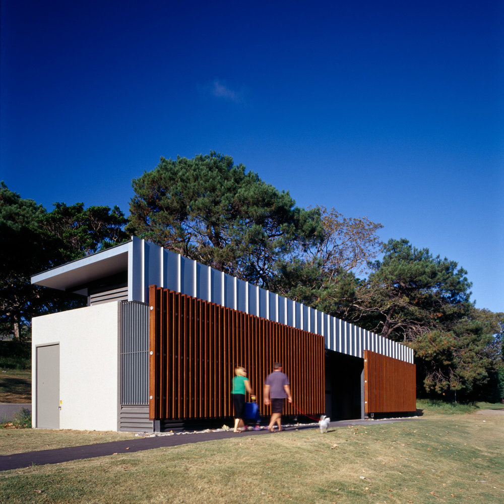 Centennial Parklands Amenities - 2006 - NSW AIA Public Architecture Award
