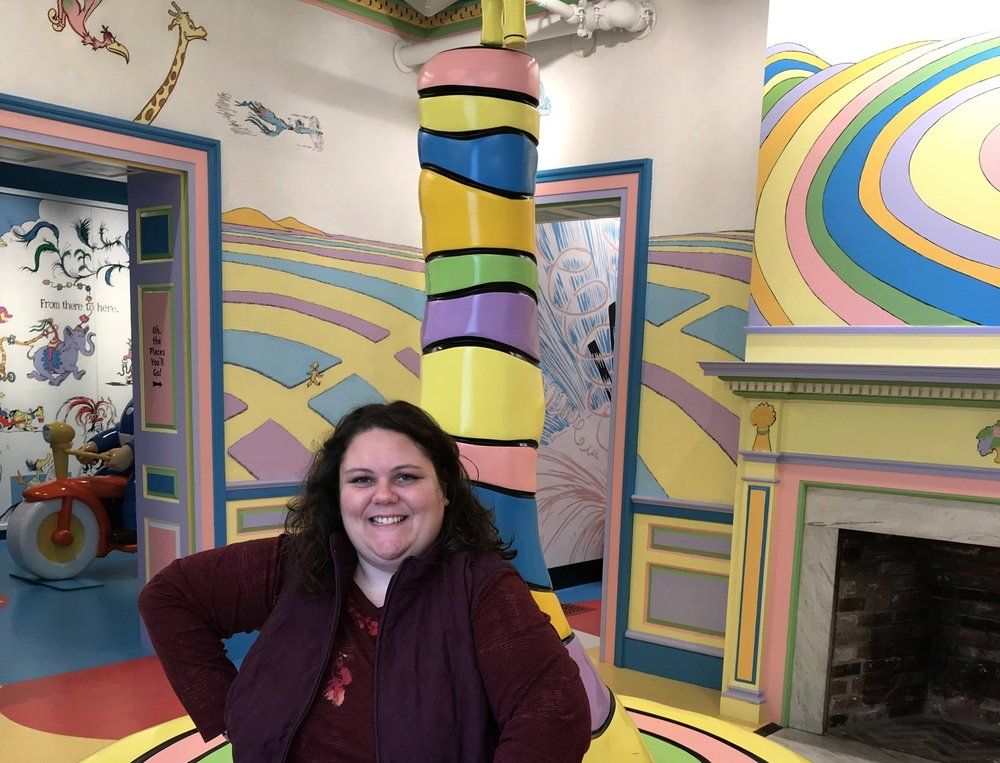 Oh The Places You'll Go room | Amazing World of Dr. Seuss Museum