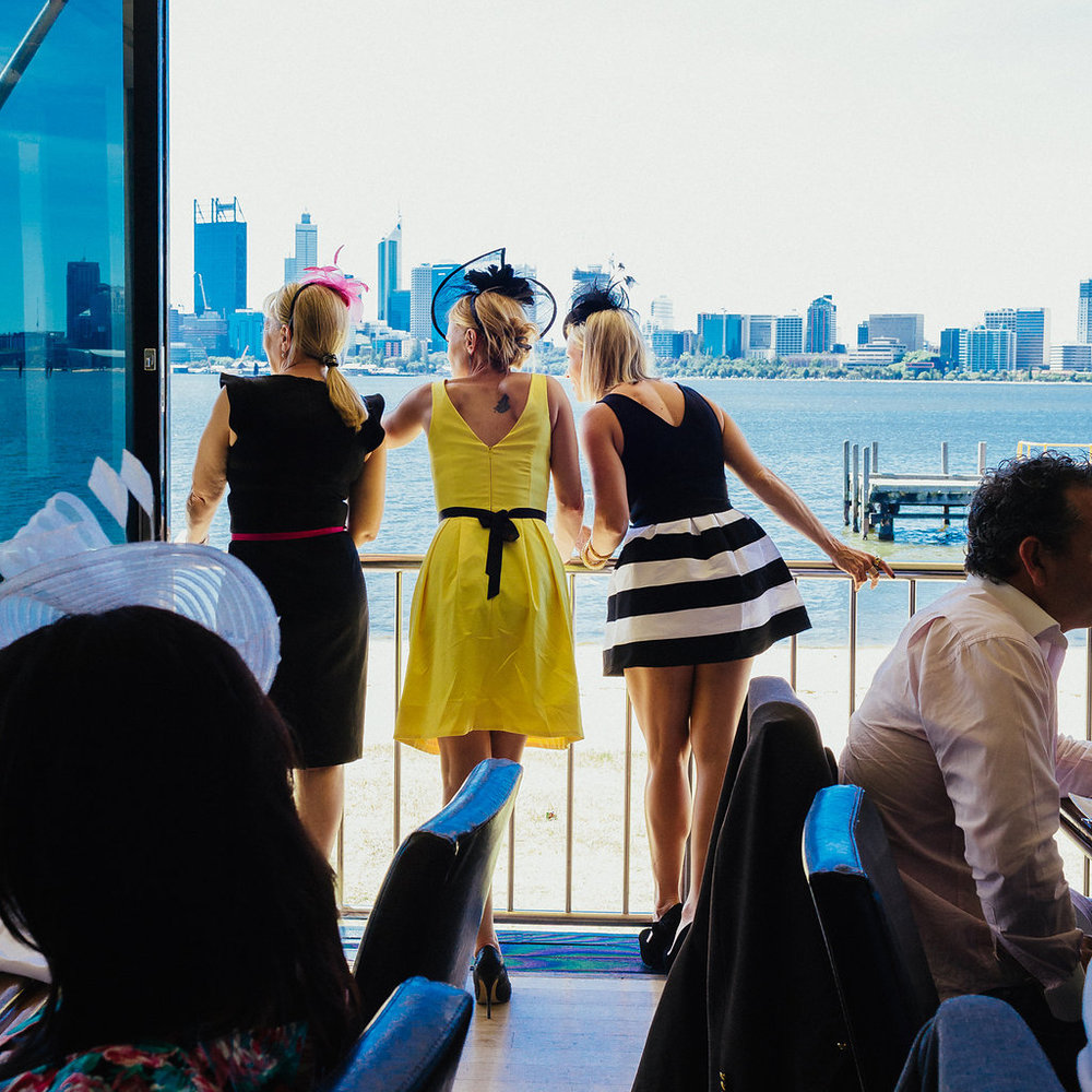 Melbourne Cup - What: A colourful race day, fine dining, entertainment, giftsWhere: The Boatshed Restaurant, South PerthMC: Tim McMillanGuests: 130Benefactor: Breast Cancer Care WAOutcome: Full bellies, merry heads and a heaving dance floor. Everyone was a winner!VIEW GALLERY