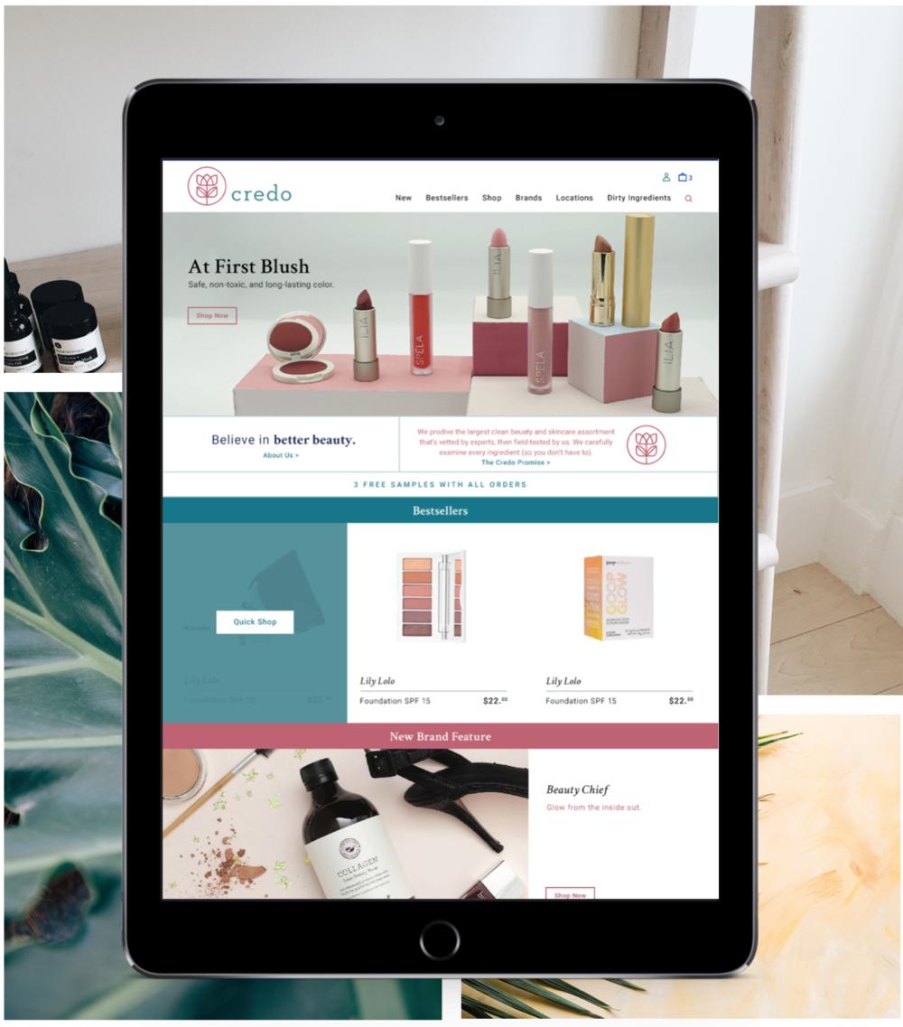 Credo Beauty Shopify Plus