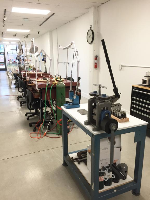 - We now offer an Open Studio, for those who have completed aWax to Metal Workshop at RAWspace, and would like to work on moreprojects, but still require some supervision. There will be a teacher on hand during Open Studio times for assistance, to answer any questions and/or offer suggestions.