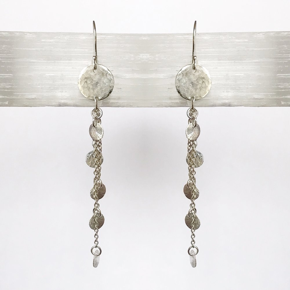 STERLING SILVER EARRING WORKSHOP - STYLE NO.18   $85 + HST PER PERSON (MATERIALS INCLUDED)