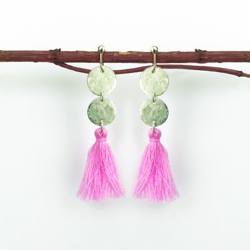 STERLING SILVER EARRINGS - STYLE NO. 6
