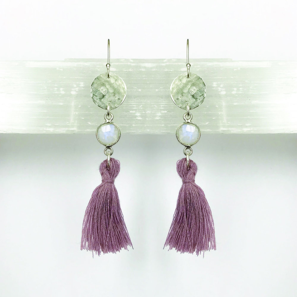 STERLING SILVER EARRINGS - STYLE NO. 8