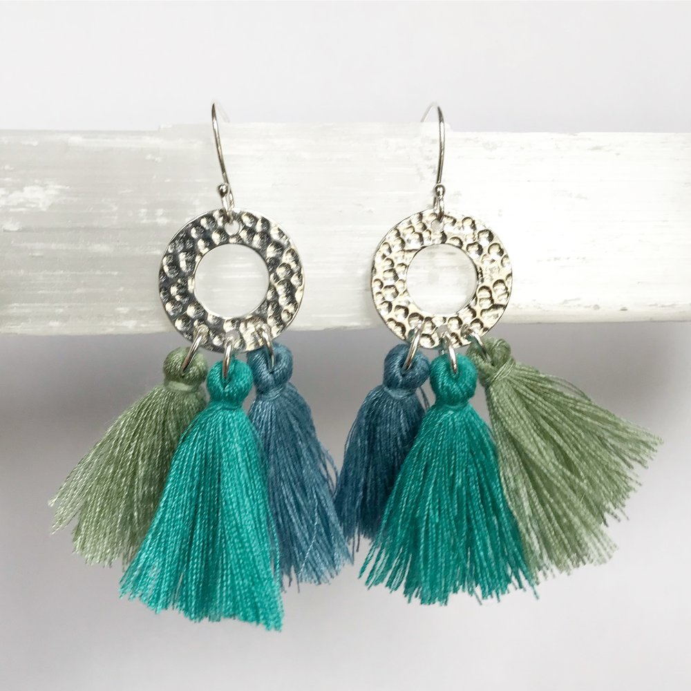 STERLING SILVER EARRINGS - STYLE NO. 12