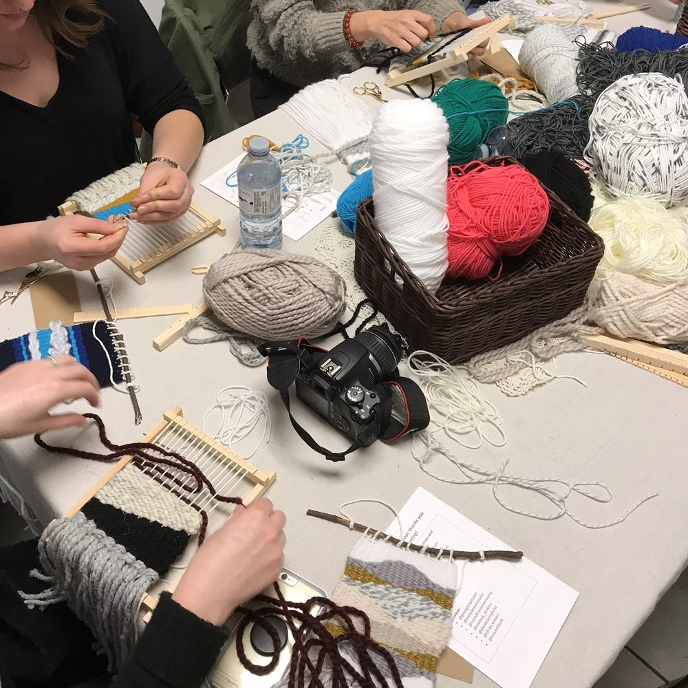 INTRO TO WEAVING WORKSHOP