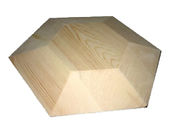 Code: EE#051 Hexagon Mould 300x300x50mm $100.00
