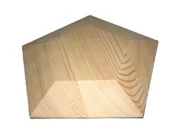 Code: EE#050 Pentagon Mould 300x300x50mm $100.00
