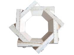 Code: EE#040 Adjustable Mould Octagon - 55mm Lip $110.00