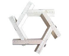 Code: EE#039 Adjustable Mould Hexagon - 55mm Lip $110.00