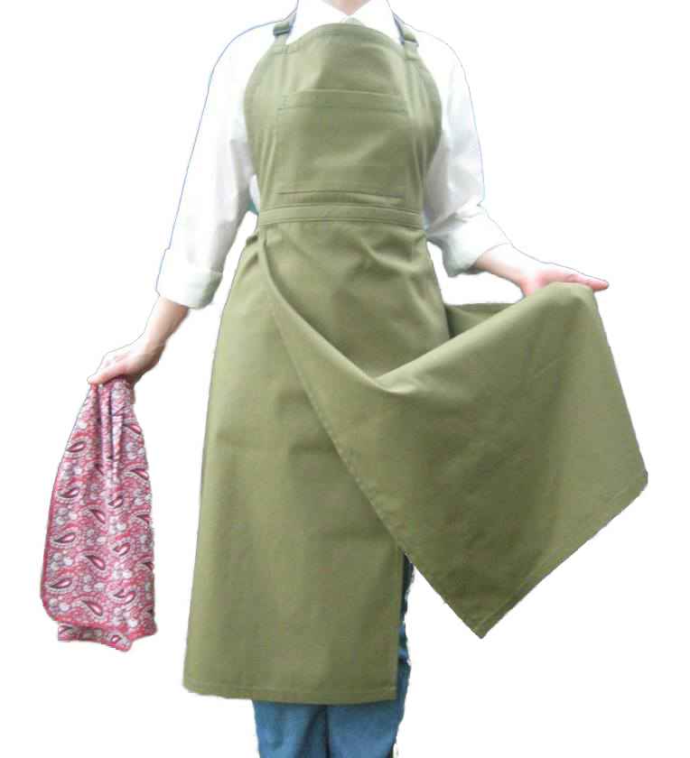 Code: EE#021 The Clay Apron Handcrafted $45.00