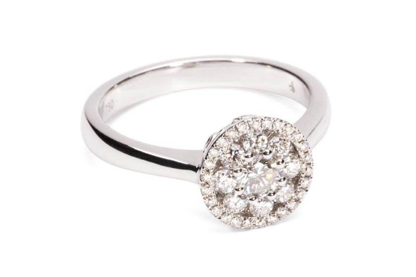 Diamond engagement ring 2.