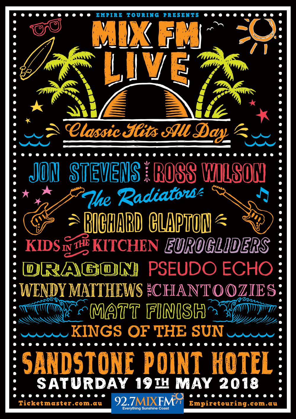 mix fm live - saturday 19th may