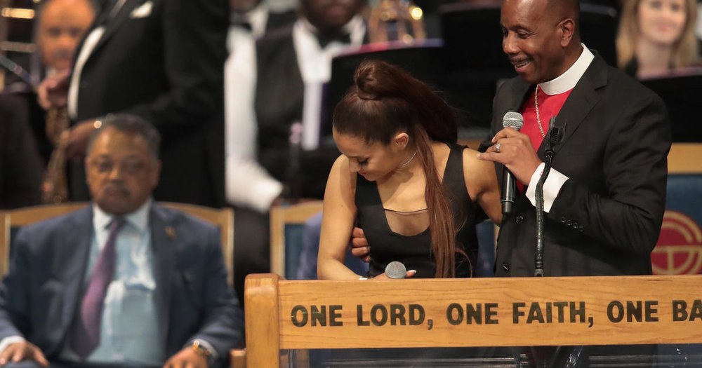 Uranium Waves - ariana-grande-bishop-aretha-franklin-