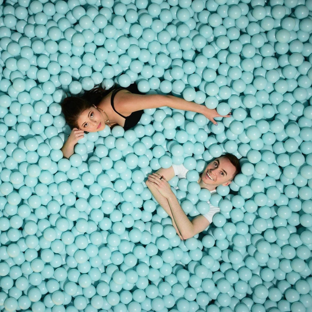 Pusher and Caroline BALL PIT_no static[1].jpg