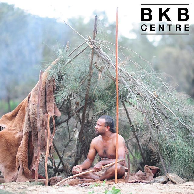 In the cooler weather the women began making their miya miya (huts). Balga stems formed supporting poles and strips of bark made the shelters water and wind proof. . . #BilyaKoortBoodja  #NyoongarCulture  #Environmental  #BKBCentre  #Northam