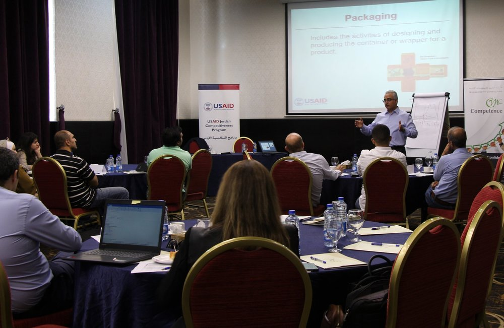 USAID JCP supported an export training session for companies participating in its Firm Level Assistance Program.