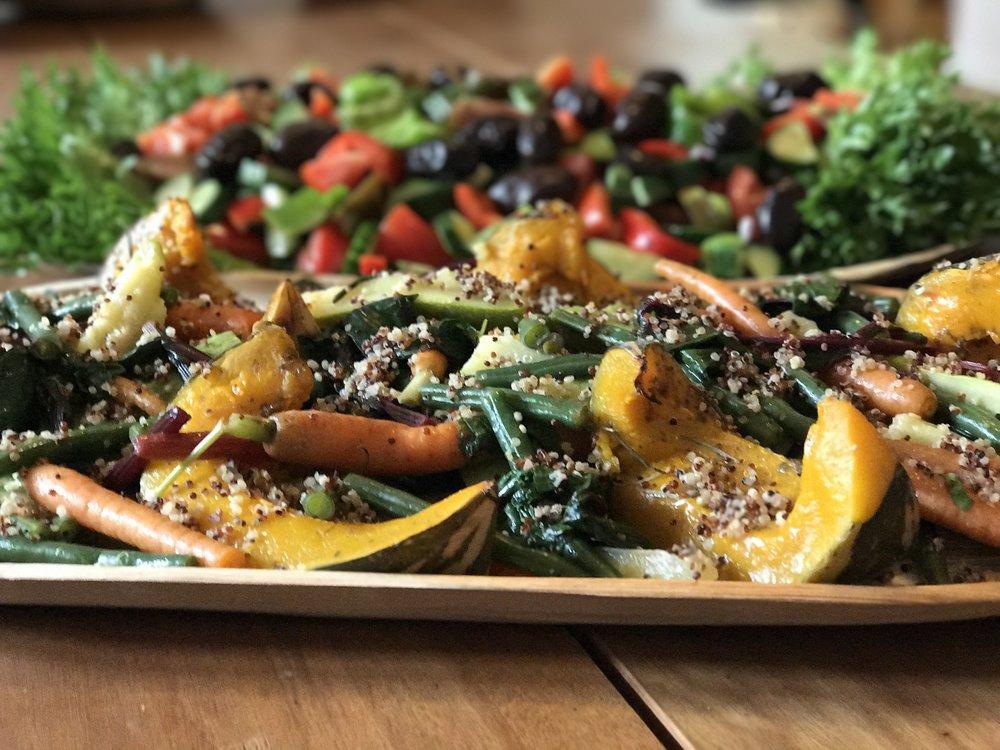 Roast Veggies & Quinoa