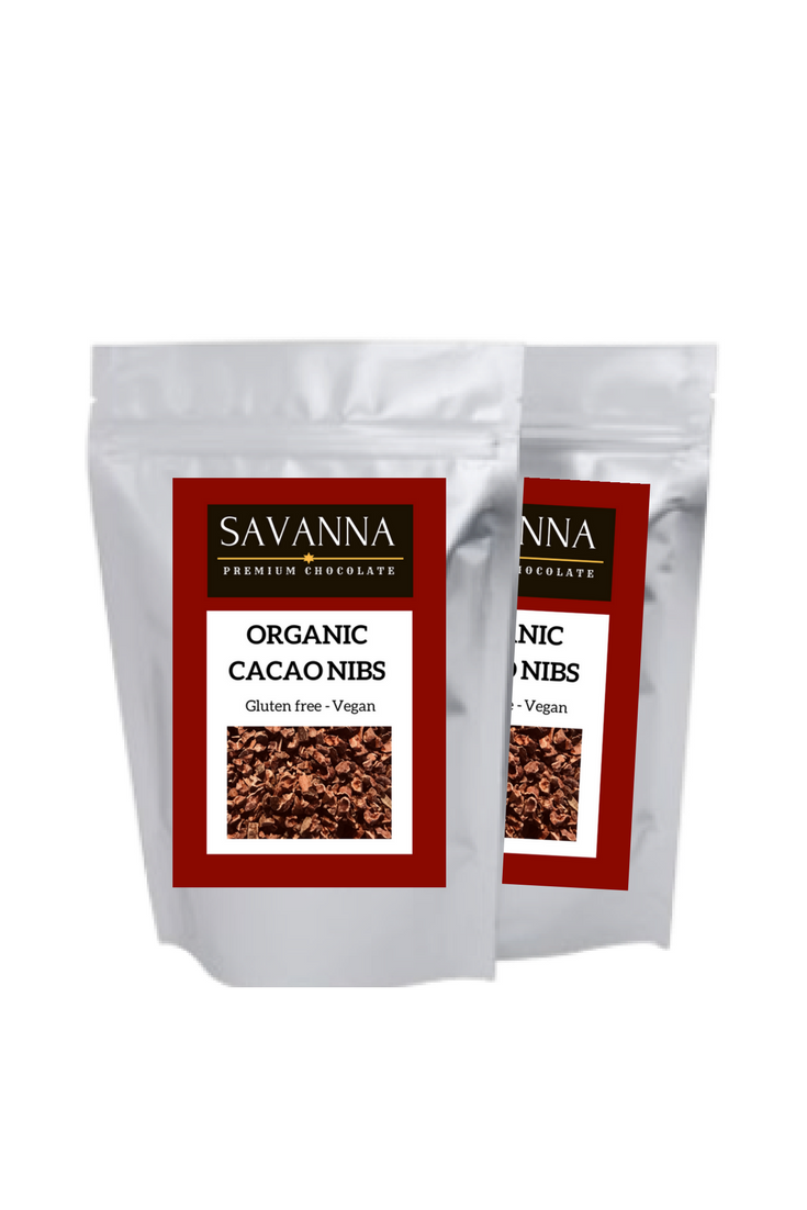 Roasted organic cacao nibs