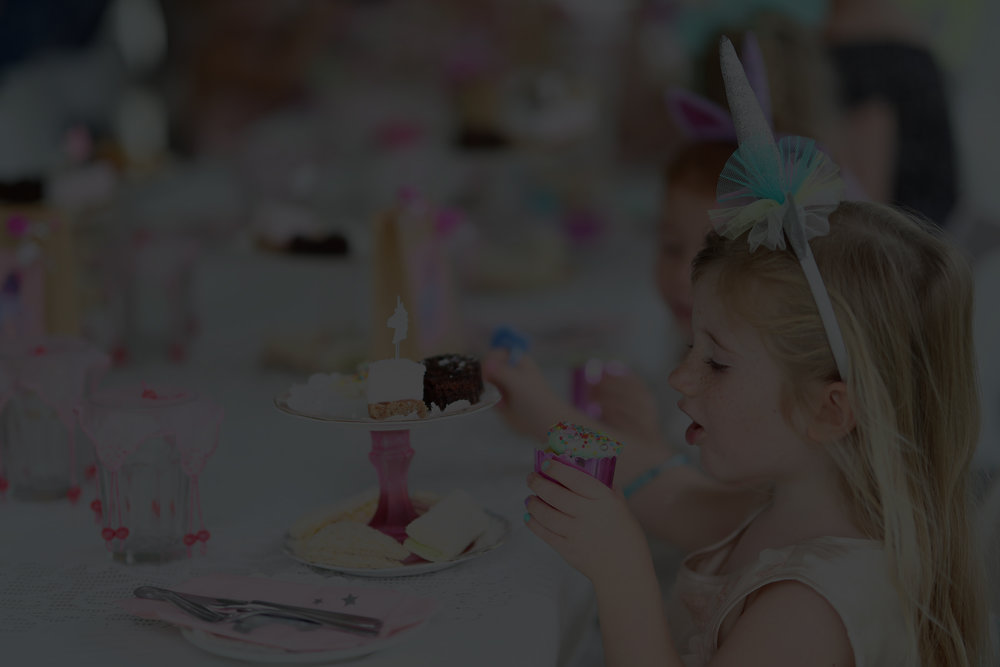 Unicorn Fantasy High Tea Party -