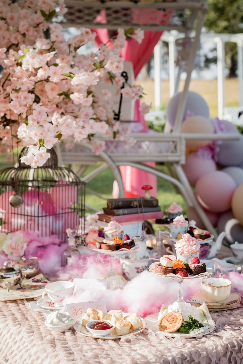 The Mad Hatter's High Tea - exclusive to our children's specialty celebration packages.