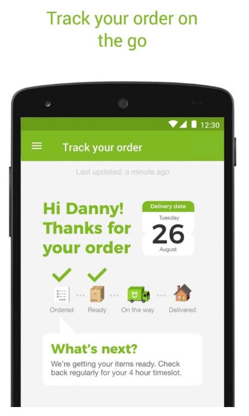 AO Order confirmation