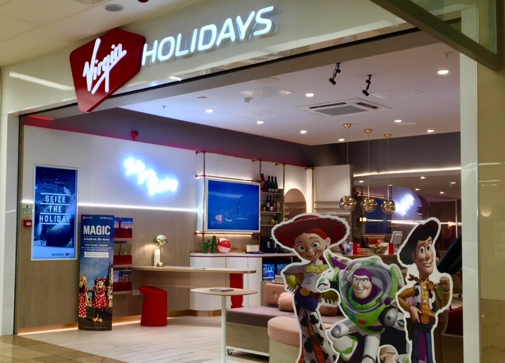 Virgin Holiday VR Store Front