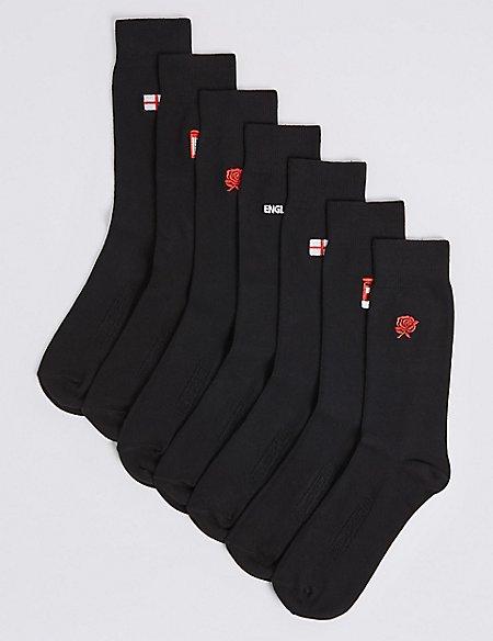 Black England Socks from Marks and Spencer